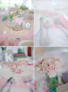 Country Vintage Pastel Wedding