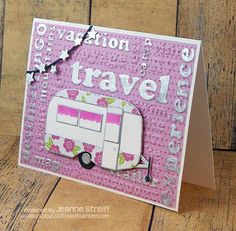 Sizzix Inspiration | Gone Camping Card by Jeanne Streiff