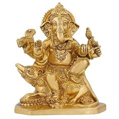Indian Statues And Sculptures Hindu God Décor Ganesha Religious Décor 8 inch ShalinIndia http://www.amazon.in/dp/B010M3J9YW/ref=cm_sw_r_pi_dp_R8U3vb0X19NJ0