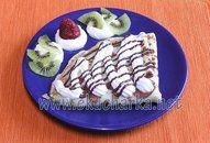 Banánové palačinky +videorecept | Recepty a videorecepty Waffles, Breakfast, Food, Morning Coffee, Essen, Waffle, Meals, Yemek, Eten
