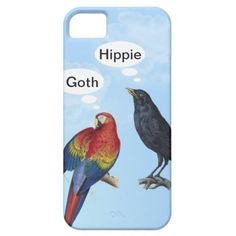 Goth Hippie Funny iPhone 5 cases by #in_case