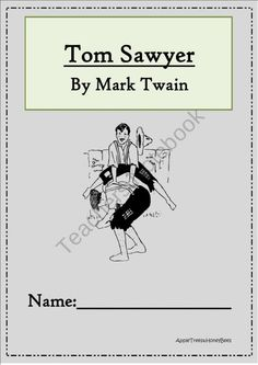 Character Analysis for Studying Tom Sawyer in The ...