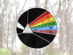 Pink Floyd Dark Side of the Moon Stained Glass by schoenercreations on Etsy https://www.etsy.com/listing/196533895/pink-floyd-dark-side-of-the-moon-stained