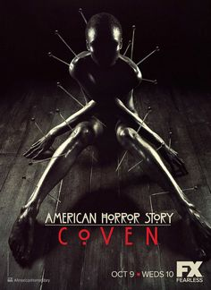 This is one beautiful poster for American Horror Story: Coven. #poster #cray #goodstuff