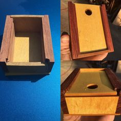 #beforeandafter sanding. This is for the deluxe box editions of our cigarette holders.  #accessory #box #handmade #california #wood #storage #cigarette #smoker #smoking #smokingaccessories #cigaretteholder #premium #classy #sylmarsmokeshop #smokeshop