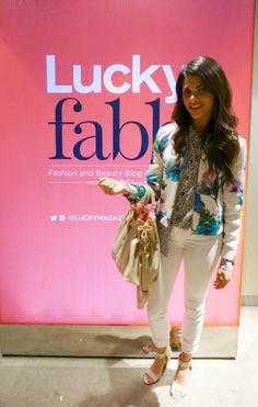 My outfit #SS14 at Lucky FABB @zaraclothes @Equipment picture taken from @Escueladebloggers Cursos Closet <3 #Fashion-ivabellini + local fashion