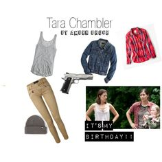 """Tara Chambler"" by lordofthethings on Polyvore @davisonalice8"