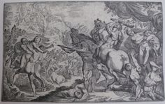 Battle of the Lapiths & Centaurs 1625, Pierre Brébiette