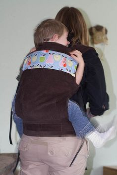 Soft-Structured Carrier tutorial -- Instructions for making a soft-structured carrier similar to an ergo. Adapt to make a doll carrier for Sean.