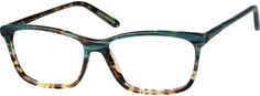 Order online, women green full rim acetate/plastic rectangle eyeglass frames model #4417324. Visit Zenni Optical today to browse our collection of glasses and sunglasses.