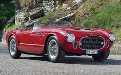 1952-Ferrari-225-Sport-Spyder #cars #coches #carros