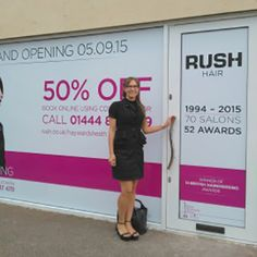 Ruth Evans is Rush's latest franchisee, opening Rush Haywards Heath on 5th September 2015.