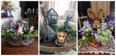 Ne pregatim din timp cu decoratiuni specifice sarbatorilor care se apropie de noi cu pasi repezi – Idei creative de primavara Topiary Garden, Table Decorations, Plants, Furniture, Home Decor, Homemade Home Decor, Flora, Home Furnishings, Plant