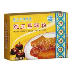 Buy Chinese Pure Water Chestnut Flour online from Asia Market, the premier Asian grocery in Ireland. Best quality chestnut powder from Pan Tang brand. Asian Grocery, Types Of Flour, Water Chestnut, Starchy Foods, Cake Flour, Plant Based, Pure Products