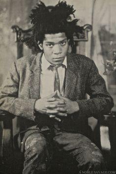 James Van Der Zee (96) circa 1982 Jean-Michel Basquiat (21)