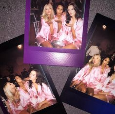 All the BTS Snaps You Need to See From the Victoria's Secret Fashion Show: For some people, it's just an average Tuesday.