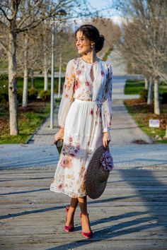 115 most stylish wedding guest dresses for spring - page - Girly Outfits, Classy Outfits, Dress Outfits, Modest Dresses, Casual Dresses, Summer Dresses, Modest Fashion, Fashion Dresses, Outfit Trends
