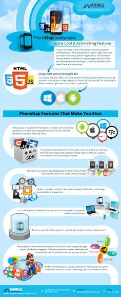 PhoneGap Development Some Cool Astonishing Features [INFOGRAPHIC] #phonegap#development