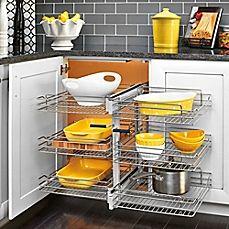 image of Rev-A-Shelf® 3-Tiered Wire Basket Organizer