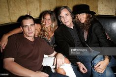 Ethan Browne, Sky Farrell, Jackson Browne and Dianna Cohen attend the Anniversary Rock & Roll Hall Of Fame Concert - After Party Honoring Jackson Browne at Quo on October 2009 in New York City. Jackson Browne, The Pretenders, Linda Ronstadt, Hello Sweetie, Party Photos, 25th Anniversary, My Best Friend, Love Him, Rock And Roll