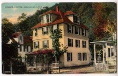 Storms Centre, Greenwood Lake NY - this is a color postcard