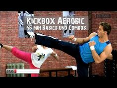 Kickbox Aerobic Basic Cardio Workout – Exercises and Fitness Home Boxing Workout, Cardio Boxing, Cardio Dance, Cardio Abs, Kick Boxing, Boxe Fitness, Power Workout, Calorie Burning Workouts, Youtube Workout