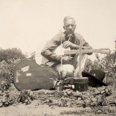 c1939 HILLBILLY COUNTRY MUSIC RADIO MUSICIAN CACTUS MAC w GUITAR CKNX BARN DANCE in Collectibles, Photographic Images, Vintage & Antique (Pre-1940), Other Antique Photographs   eBay