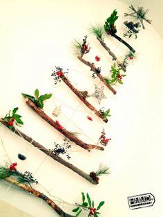 Árbol de navidad DIY Christmas tree by HandMadeManiaDecor