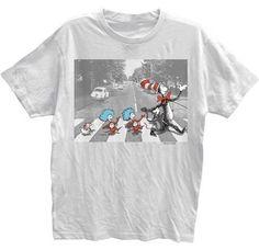 Dr Seuss Abbey Seuss T-Shirt (2X-Large)