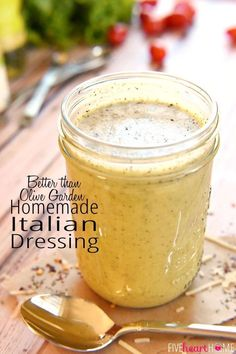 Homemade Italian Dressing Recipe!