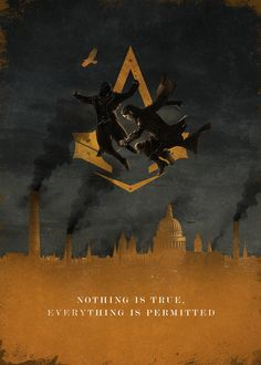 Assassin's Creed Syndicate Poster  - Bernie Jezowski