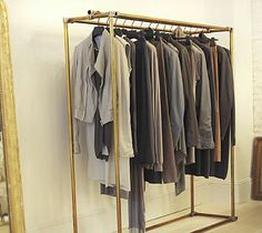 Clothing Rack -- potential IKEA hack?