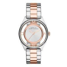Montre pour femme : Marc by Marc Jacobs Women's MBM3436 Tether Two-Tone Stainless Steel Bracelet