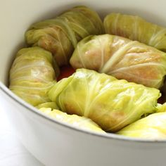 This Greek cabbage roll recipe is a winter classic and is great as an appetizer or party favor.