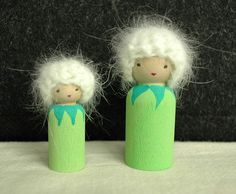 Dandelion Peg Dolls....This is fantastic!