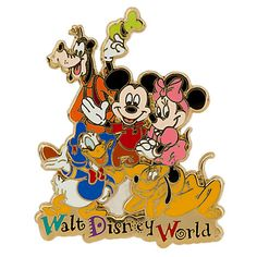 Mickey Mouse and Friends Pin - Walt Disney World | Pins (Individual) | Disney Store | $8.95