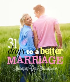 31 posts from 30 bloggers equipping you for a better Christian marriage. :: ManagingYourBlessings.com - after the wedding, women in marriage, life and world marriage tips