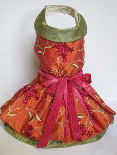 Designer Dresses - Dog Dresses, Pet Apparel, Designer Dresses