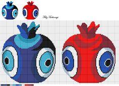 Bir nazar çalışması daha sunuyorum sizlere... Hangisini isterseniz...Designed by Filiz Türkocağı...( Turkish Evil Eye )