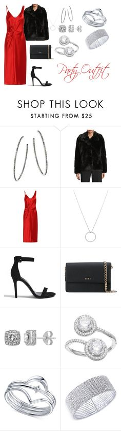 Their Daughter Outfit #6 by xxzmpxx on Polyvore featuring T By Alexander Wang, MICHAEL Michael Kors, Forever 21, DKNY, Anne Klein, Unwritten, Nina Gilin, Diamond Splendor and Roberto Coin