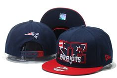 New England Patriots NFL Big City 9FIFTY Snapback Caps Hats Navy/Red