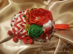 Christmas Headpiece by LaceyLengths on Etsy