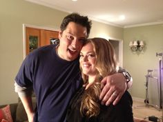 Greg Grunberg (Dale) & Rebecca Field (Lacey) - The Client List The Client List, Me Tv, On Set, Good Things, Life, Celebrity