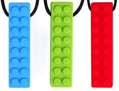Chewing Biting Teething Brick Necklace Pack) for Kids with Autism ADHD Chewing Biting Teething Needs Liam James, Children With Autism, Teething, Adhd, Brick, Parenting, Packing, Personal Care, Amazon