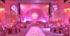 Amazing pink event design by @Preston Bailey SocialTables.com | Event Planning Software