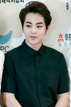 Xiumin looks so handsome here as usual <3
