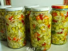 This is a recipe for pickled pepper rings. The Original recipe, in The Homesteading Recipe Book by Patricia Crawford, called for sweet pe. Croatian Recipes, Hungarian Recipes, Canning Recipes, Paleo Recipes, Easy Recipes, Pickled Hot Peppers, Farmers Market Recipes, Stuffed Sweet Peppers, Different Recipes