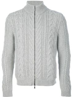 MALO - cable knit cardigan 6