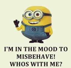 Best 33 Funny Minion Quotes - Quotes and Humor Cute Minions, Minion Jokes, Minions Quotes, Minions Minions, Minion Stuff, Funny Shit, The Funny, Hilarious, Funny Stuff