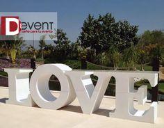 Mesa de Postres LOVE D-Event www.deventmex.com
